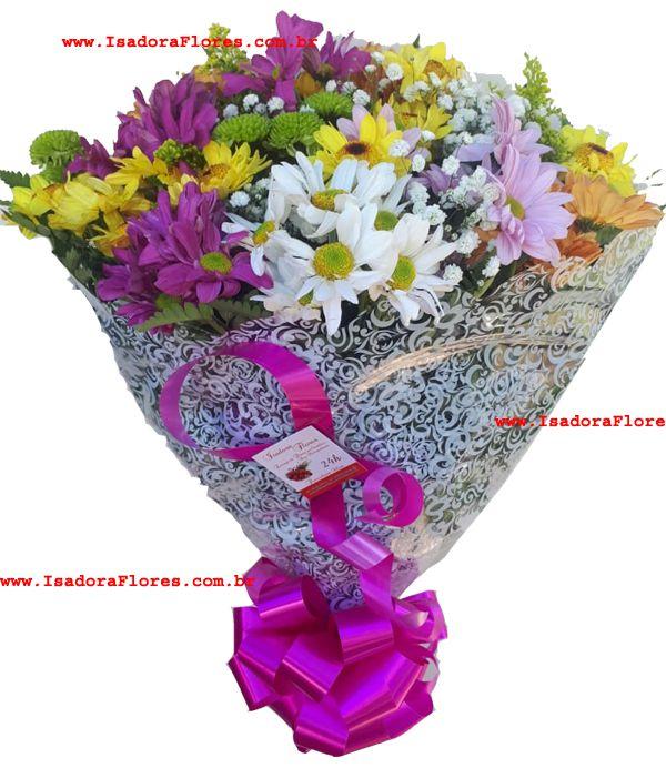 1072 Buquê com flores do campo