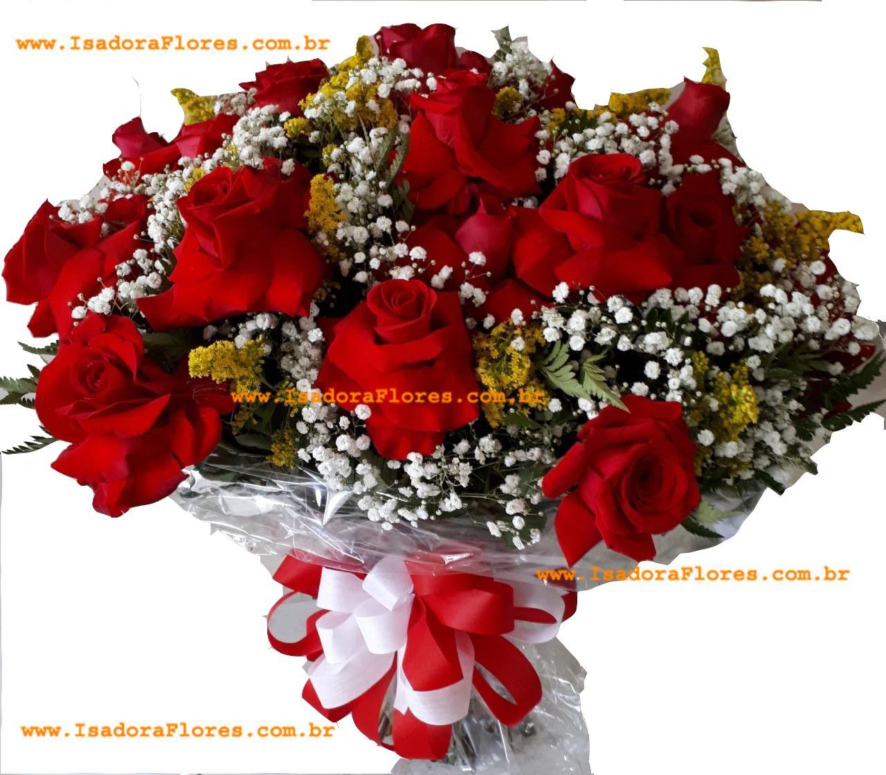 1247  Buquê 30 Rosas Colombianas