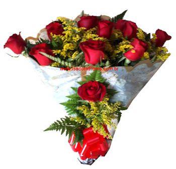 1666 1 dz de rosas Tradicional