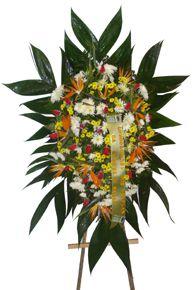 1694 Coroa de Flores Mistas