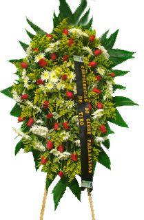 1699 Coroa de Flores Pêsames