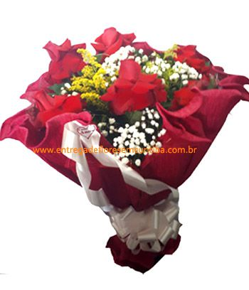 1879 Crepe Red Rose