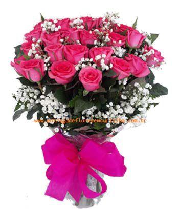 1905 Ramalhete 24 Rosas Pink