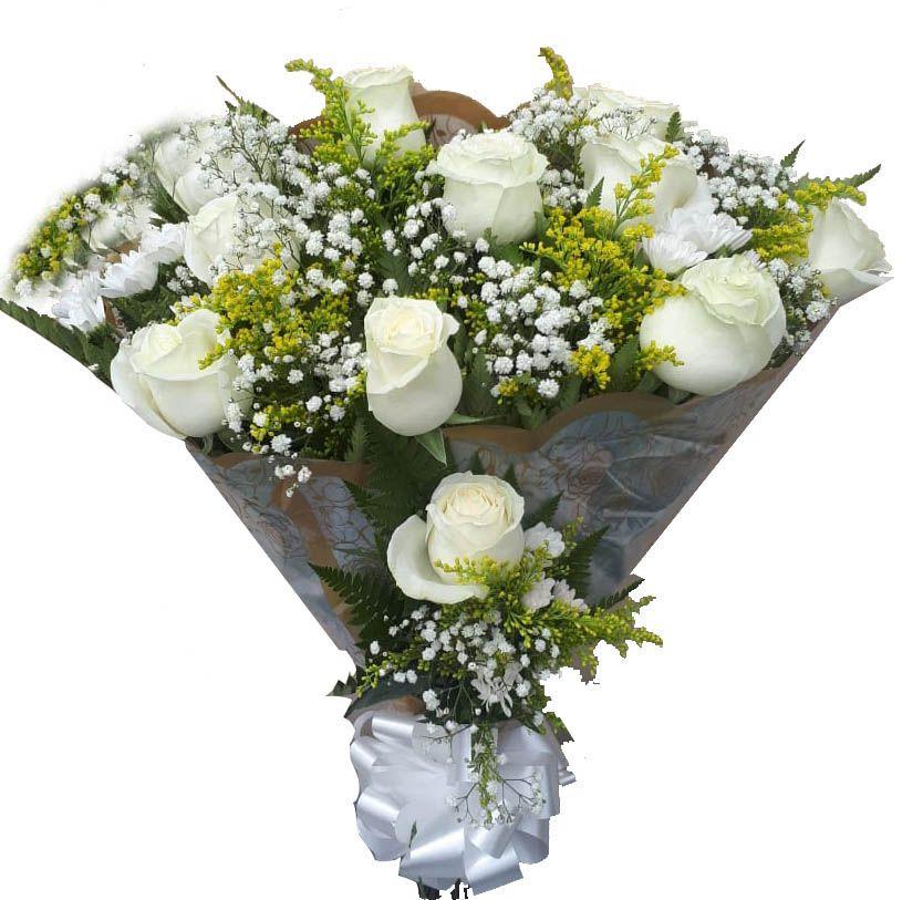 1934 Buquê rosas Brancas