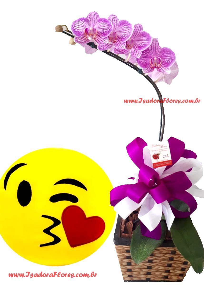 2045 Orquídea + emogi