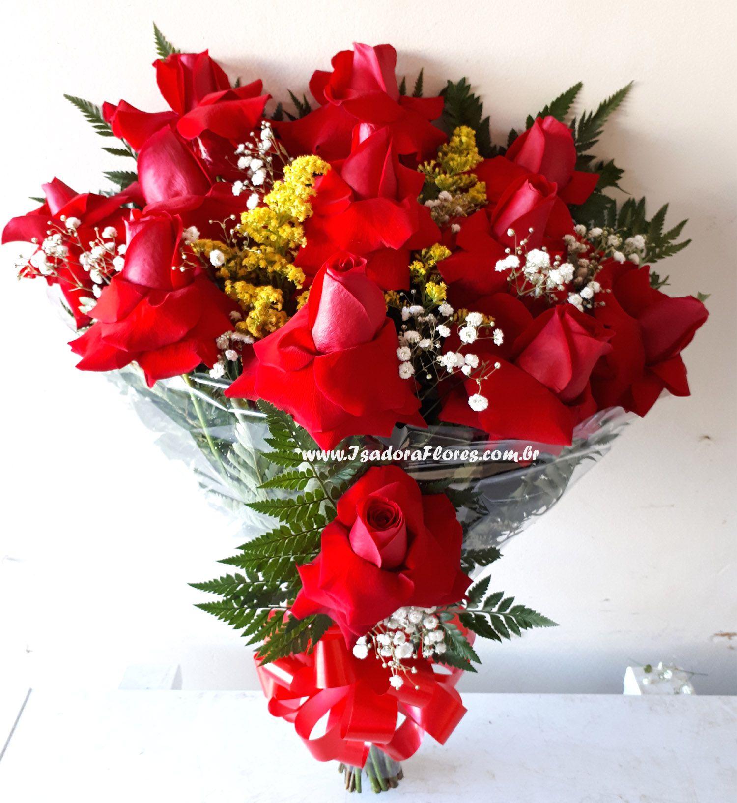 2178 Buquê 12 Rosas Premium