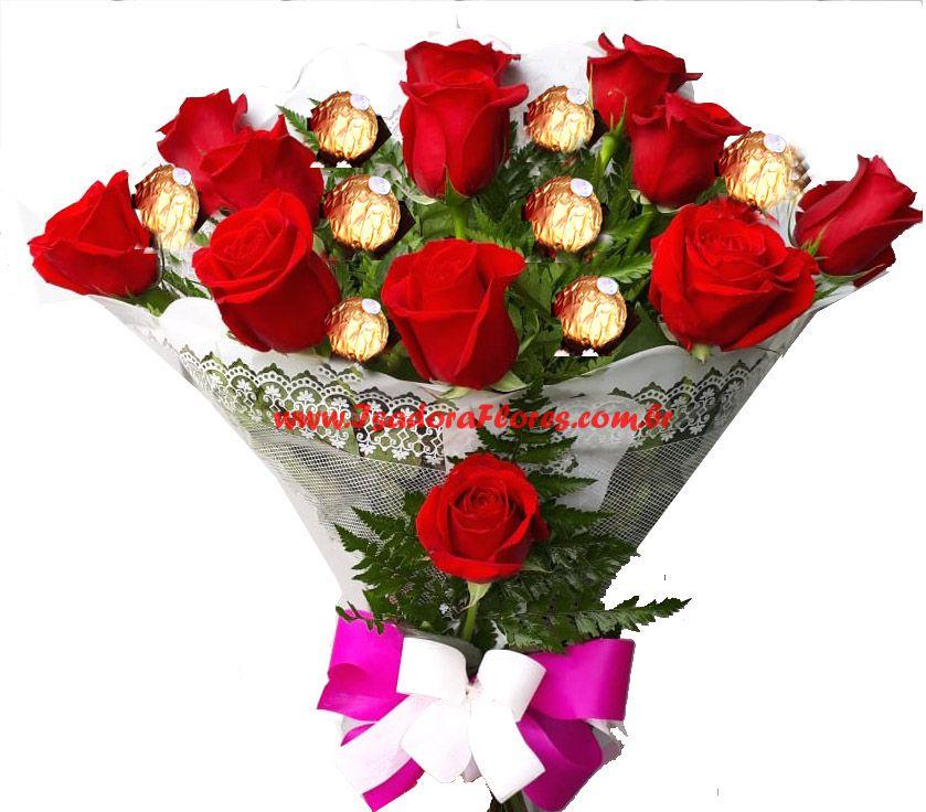 2193 Pra mamãe Rosas e Ferrero Rocher