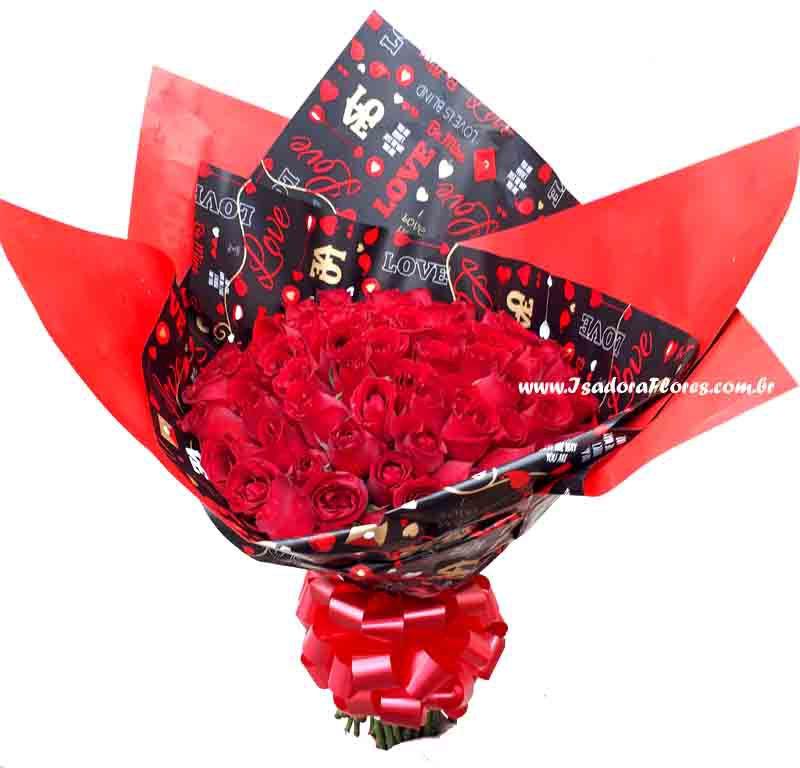 2273 Dueto com 50 Rosas