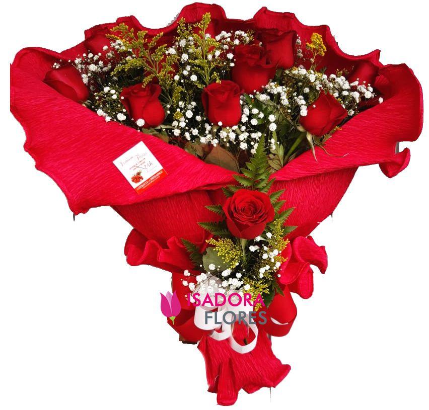2544 Buquê de Rosas