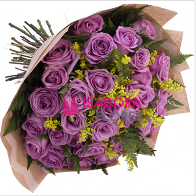 2735 Buquê com Rosas Lilas