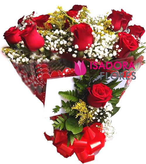 2736 Especial com Rosas vermelhas