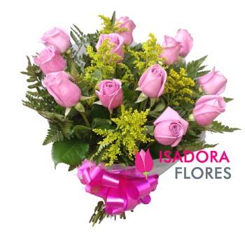 2740 Buquê Rosas Lilas