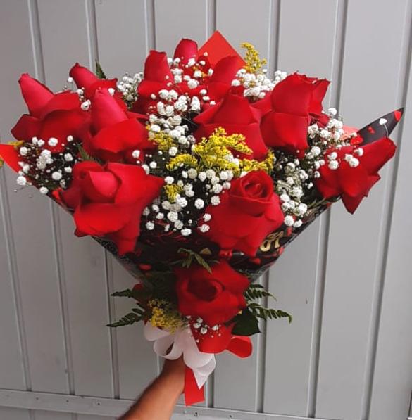 2777 Buquê Rosas Premium