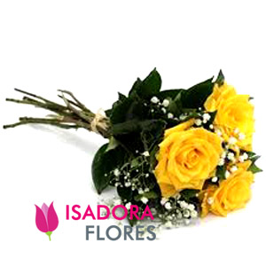 2783 Buquê Rosas amarelas