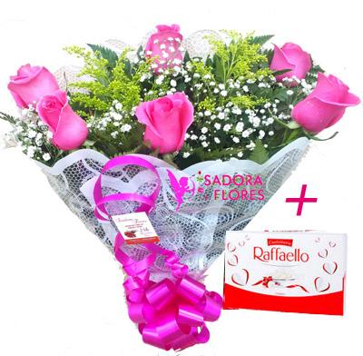 3000 Rosas Pink + Raffaello