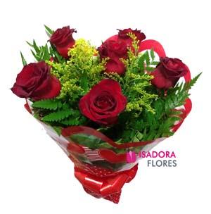 3088 Buquê de rosas vermelhas