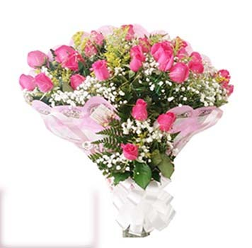 3090 Buquê rosas pink