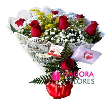 3124 Buquê de Rosas decorado