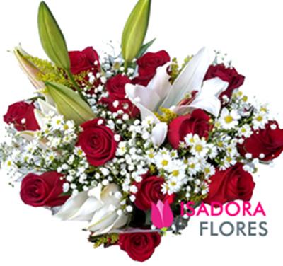 3140 Buquê lírios e Rosas