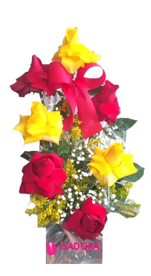 3172 Arranjo com Rosas