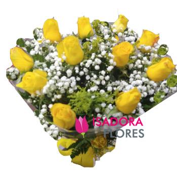 3403 Buquê Rosas Amarelas