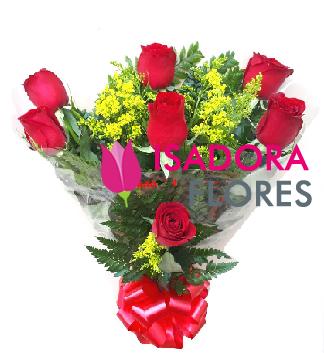 3443 Buquê Rosas Vermelhas