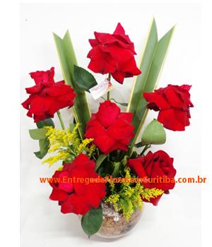 3891 Arranjo de Rosas Vermelhas