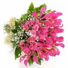 3902 Buque de Alstroemérias Pink