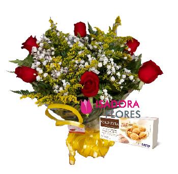 3908 Flower Golden + Amandita
