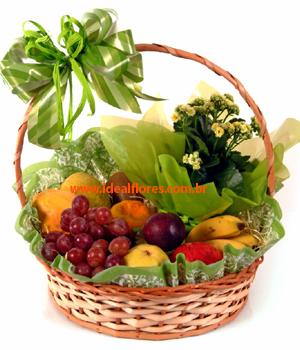 3926 Cesta Viva Bem com Frutas