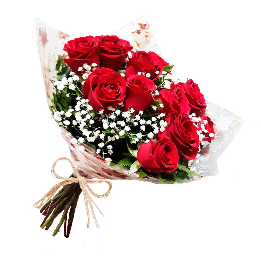 3954 Buquê Charm 12 rosas