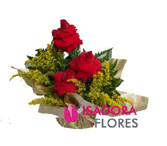 4556 Arranjo com rosas