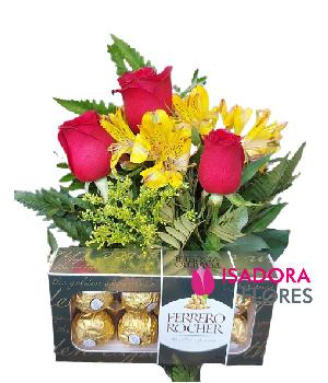 4787 Flores com Ferrero