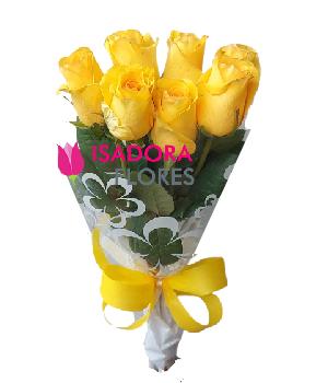 4855 Ramalhete rosas amarelas