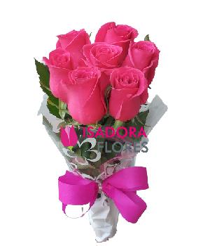 4856 Ramalhete Rosas cor de rosa clara