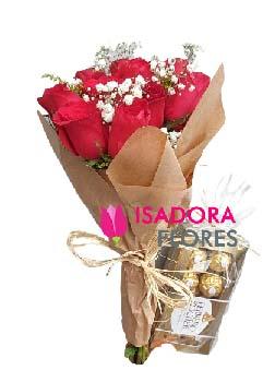 5021 Ramalhete Importadas com Ferrero Rocher