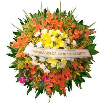 5135 Coroa de Flores Escarlete