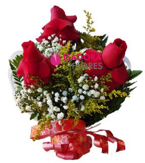 5363 Buquê Rosas Premium