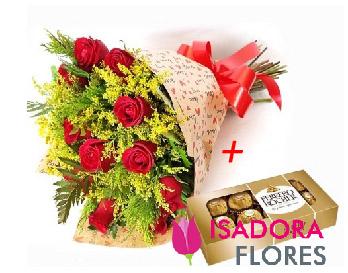 5557 Buque Doce emoção com Ferrero Rocher